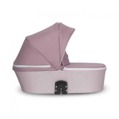 Wózek głęboki Riko Molla stelaż plus gondola kolor Powder Pink