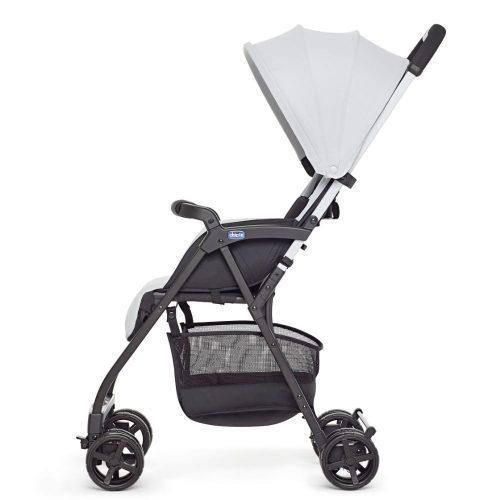 Wózek spacerowy Chicco Ohlala 2 kolor Silver, ultralekki tylko 3,8 kg!