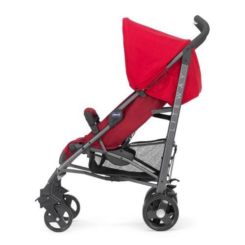 Wózek spacerowy Chicco Lite Wey 3 TOP z pałąkiem do 22 kg, kolor Red Bewrry