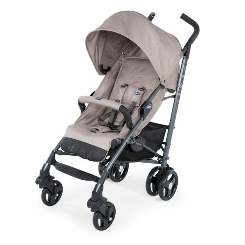 Wózek spacerowy Chicco Lite Wey 3 TOP z pałąkiem do 22 kg, kolor Dark Beige