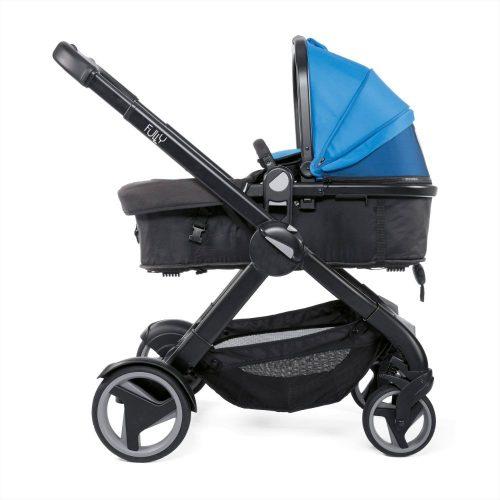 Wózek głęboko spacerowy Chicco Fully zestaw 2w1 kolor Power Blue