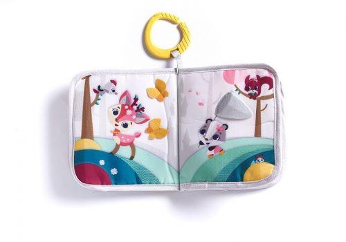 Miękka książeczka edukacyjna dla niemowląt Tiny Love świat małej ksieżniczki