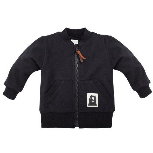 Pinokio rozpinana bluza dziecięca Bears Club 104 Czarny