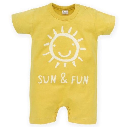 Pinokio rampers Sun And Fun 80 Żółty
