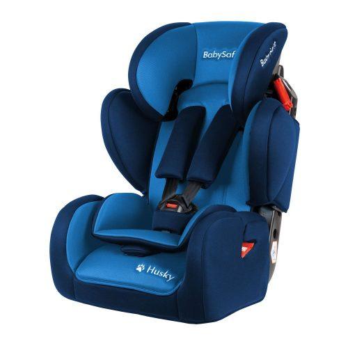 Fotelik samochodowy BabySafe Husky 2020, 9-36 kg, kolor Niebieski