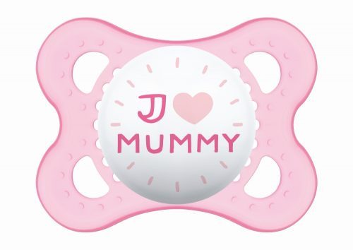 Mam Baby smoczek silikonowy Love & Affection 2-6m Mummy Girl