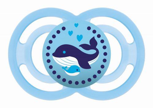 Mam Baby smoczek silikonowy uspokajający Perfect 16m+  niebieska orka