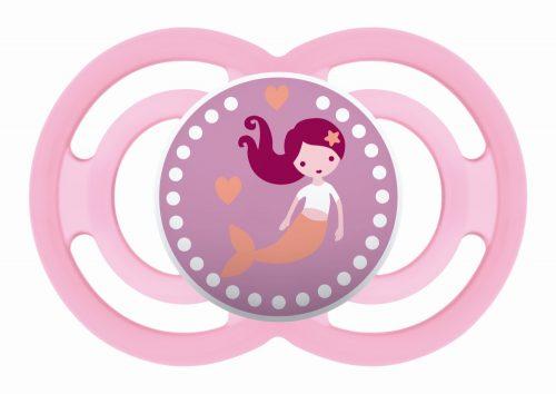 Mam Baby smoczek silikonowy uspokajający Perfect 16m+ różowa syrenka