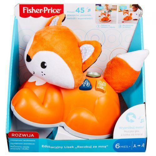 Edukacyjny lisek zabawka Fisher Price