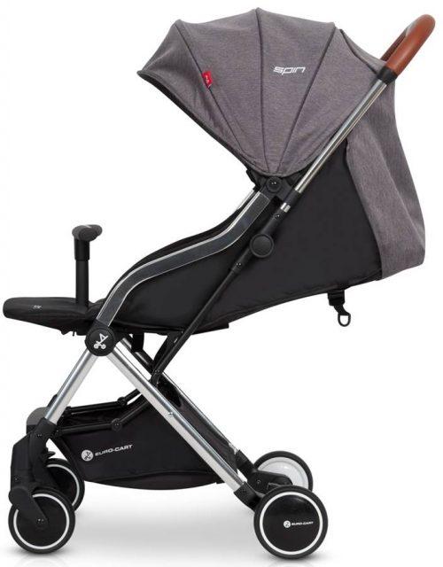 Lekki wózek spacerowy Euro Cart Spin tylko 5,9 kg, kolor Anhracite