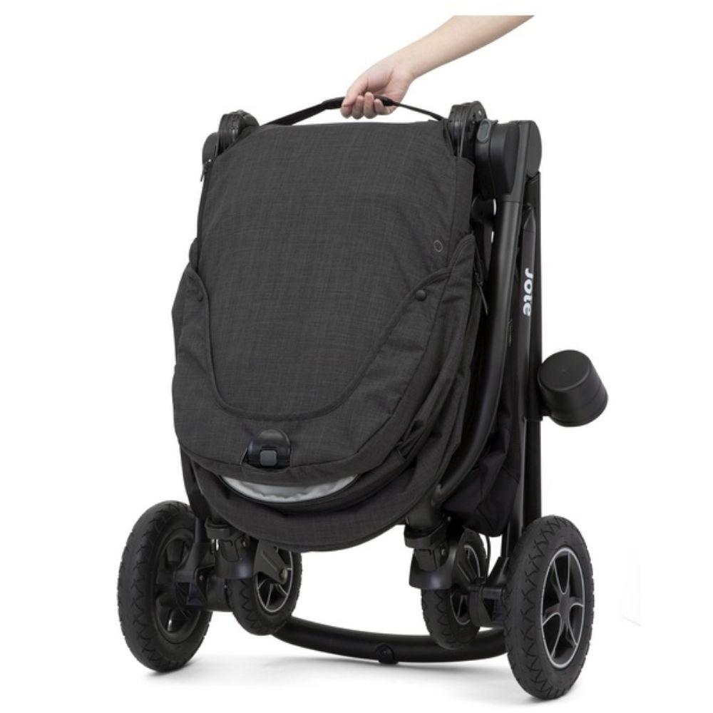 Wózek spacerowy Joie Versatrax z możliwością zamontowania gondoli oraz fotelika 0-13 kg, kolor Pavement