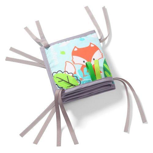 Książeczka sensoryczna miekka dla niemowląt Friendley Forest Babyono