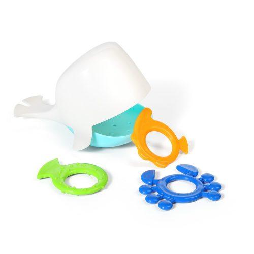 Zabawki do wanny zabawka do kąpieli Whale Kiper biały
