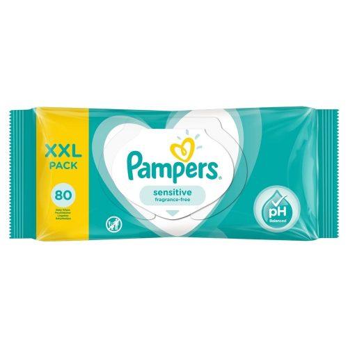 Chusteczki pielęgnacyjne Pampers Sensitive XXL pack 80 szt