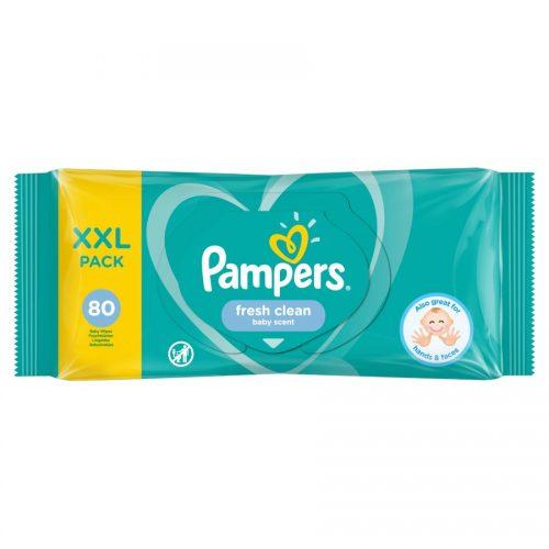 Chusteczki pielęgnacyjne Pampers fresh clean XXL pack 80 szt
