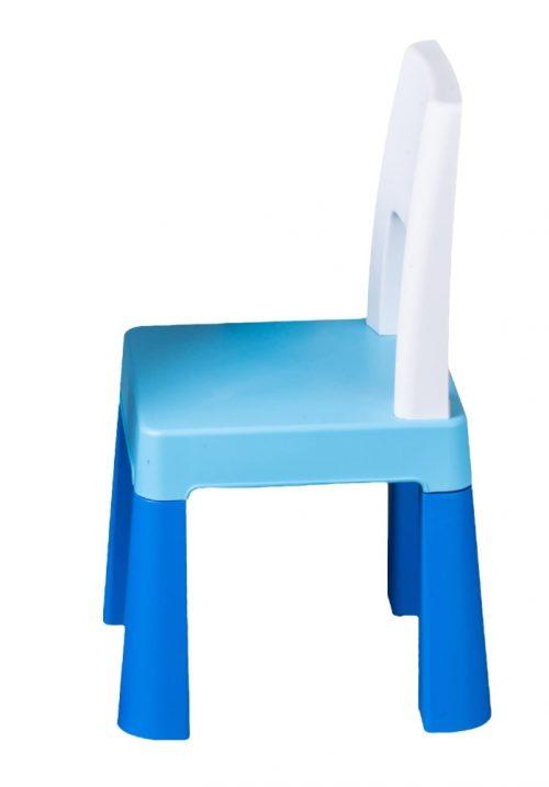 Krzesełko dla dziecka do stolika Multifun Tega Baby niebieskie