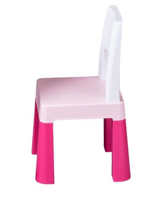 Krzesełko dla dziecka do stolika Multifun Tega Baby różowe