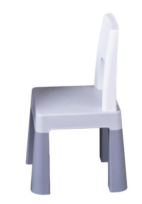Krzesełko dla dziecka do stolika Multifun Tega Baby szare