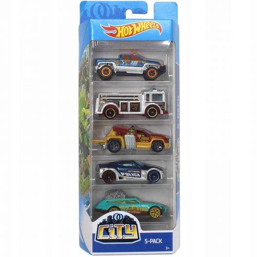 Hot Wheels pięciopak reseorak, autko samochodzik FLY24