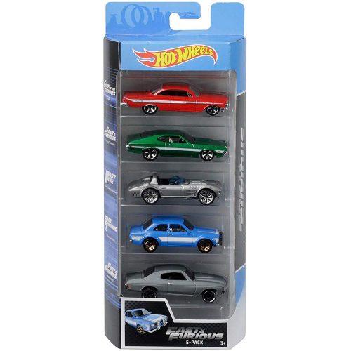 Hot Wheels pięciopak reseorak, autko samochodzik FLY16