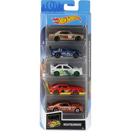 Hot Wheels pięciopak reseorak, autko samochodzik FLY12