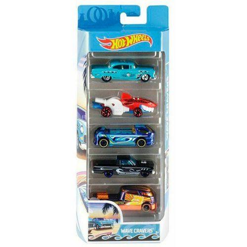 Hot Wheels pięciopak reseorak, autko samochodzik FLY21