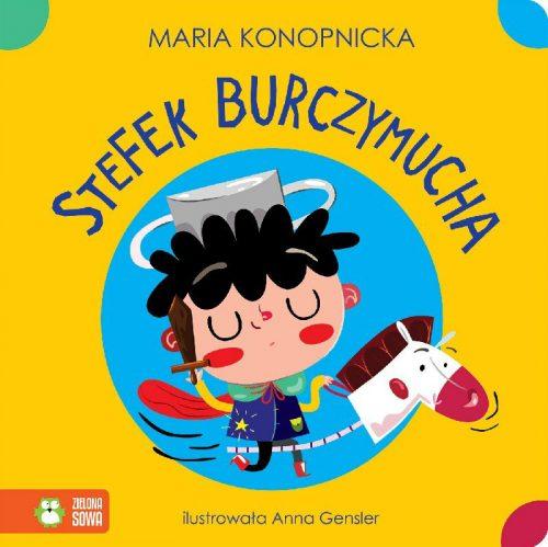 Stefek burczymucha książeczka dla dziecki Maria Konopnicka