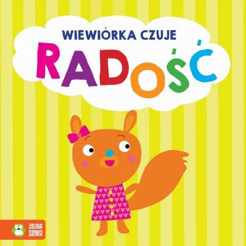 Wiewiórka czuje radość książeczka dla dziecka