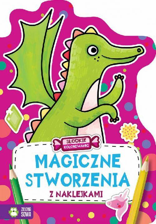Kolorowanki 32 strony magiczne stworzenia