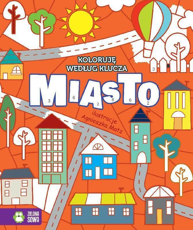 Kolorowanka Dla Dzieci Miasto Sklep Internetowy Czestochowa
