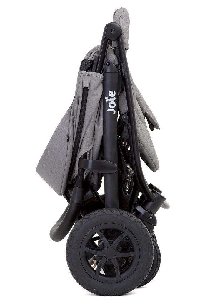 Wózek spacerowy Joie Litetrax 4 Air V2 koła pompowane kolor Coal