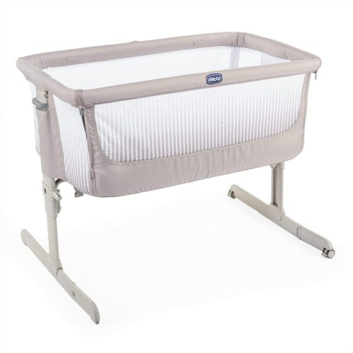 Next2Me Air Chicco łóżeczko dostawne Co-Sleeping Dark beige