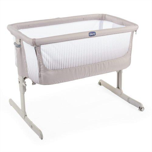 Next2Me Air Chicco łóżeczko dostawne Co-Sleeping Dark beige