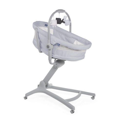Baby Hug 4w1 Air Chicco krzesełko leżaczek fotelik Stone