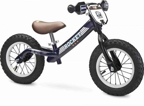Metalowy rowerek biegowy na pompowanych kołach Rocket Toyz Navy