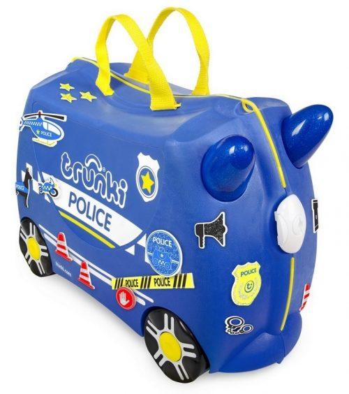Walizeczka jeżdząca Trunki walizka dla dziecka radiowóz Percy