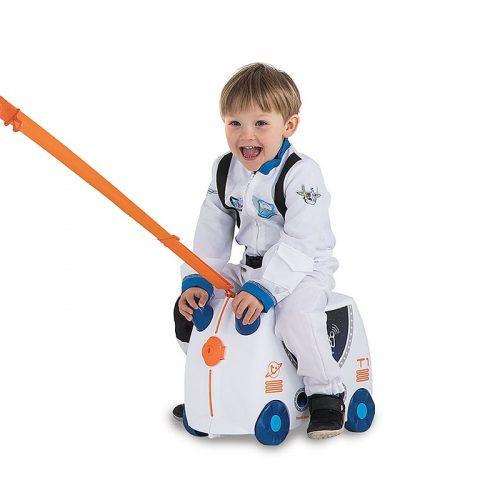 Trunki walizka na kółkach dla dziecka walizeczka kosmiczny Skye