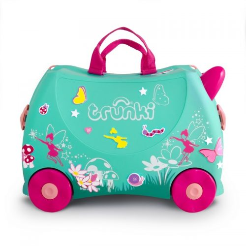 Trunki walizka na kółkach dla dziecka walizeczka wróżka flora