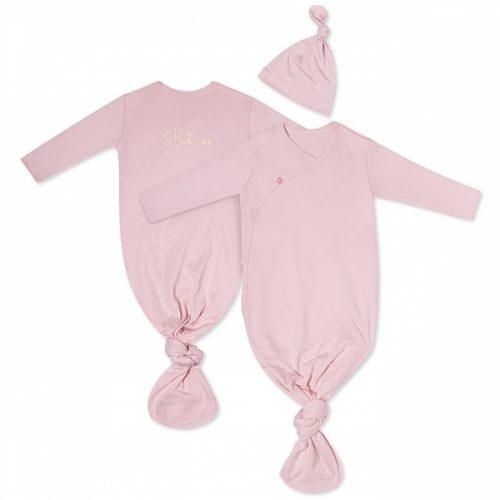 Śpij worek pajacyk do spania Snap różowy