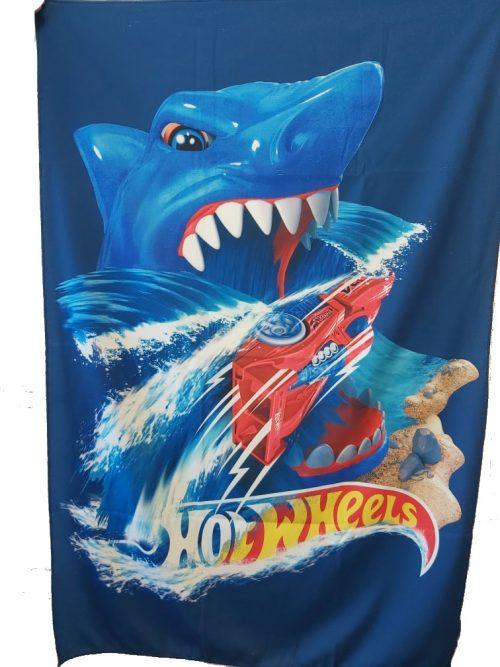 Ręcznik z nadrukiem Hot Wheels 95x140cm