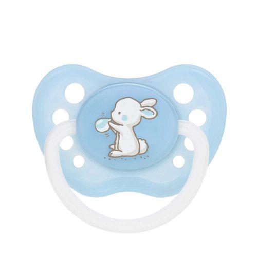 Silikonowy smoczek do uspokajania anatomiczny Little Cutie Canpol Babies 18m+ kolor Niebieski