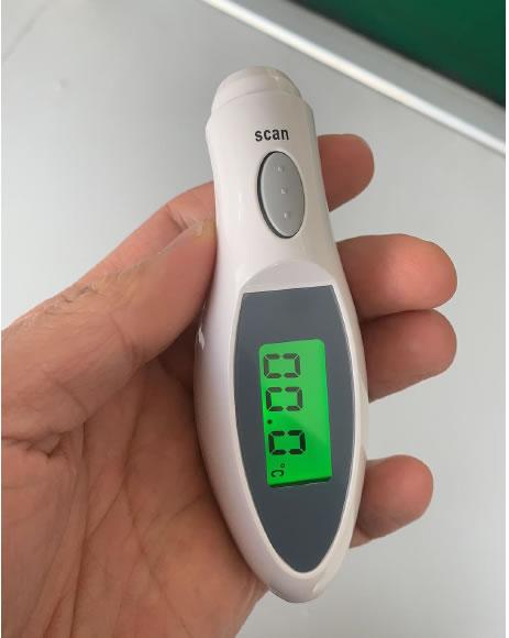 Bezdotykowy termometr na podczerwień FT 100B/MM-331 MesMed