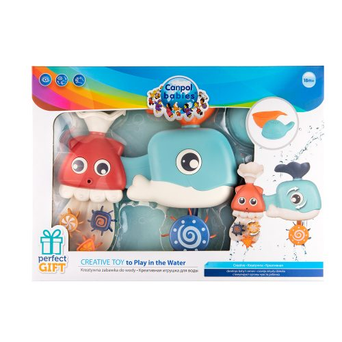 Edukacyjna zabawka do kąpieli dla dziecka zabawka do wanny Canpol Babies