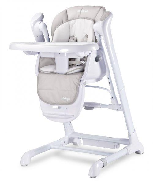 Indigo huśtawka leżaczek dla niemowląt Caretero light grey