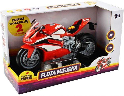 Sportowy motocykl Dumel Discovery HT68811 czerwony