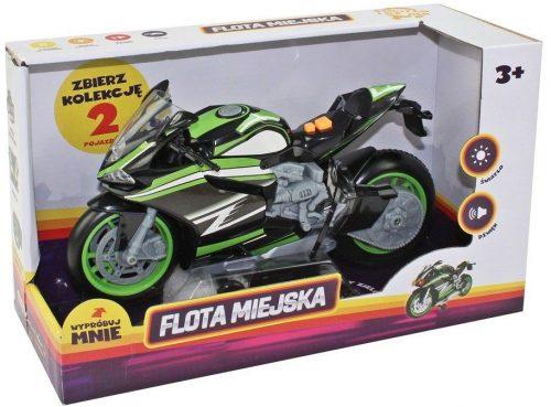 Sportowy motocykl zielony Dumel Discovery HT68801