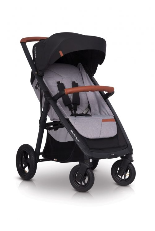 Lekki wózek spacerowy EasyGo Quantum AIR kolor Grey Fox