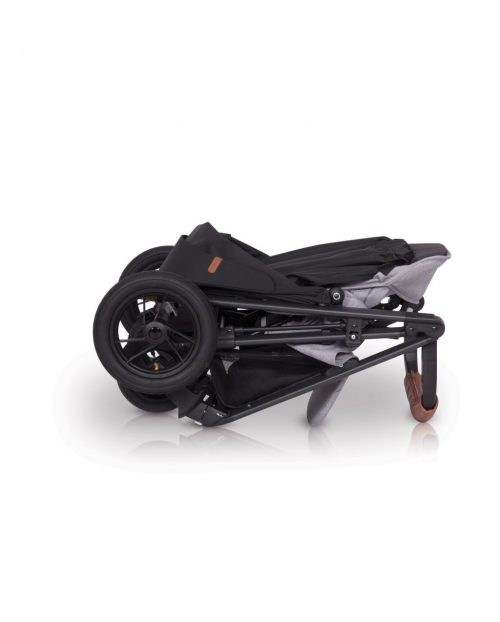 Lekki wózek spacerowy EasyGo Quantum Air kolor Anthracite