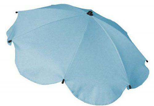 Parasolka przeciwsłoneczna do wózków dziecięcych  błękitna