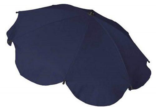 Parasolka przeciwsłoneczna do wózków dziecięcych granatowa